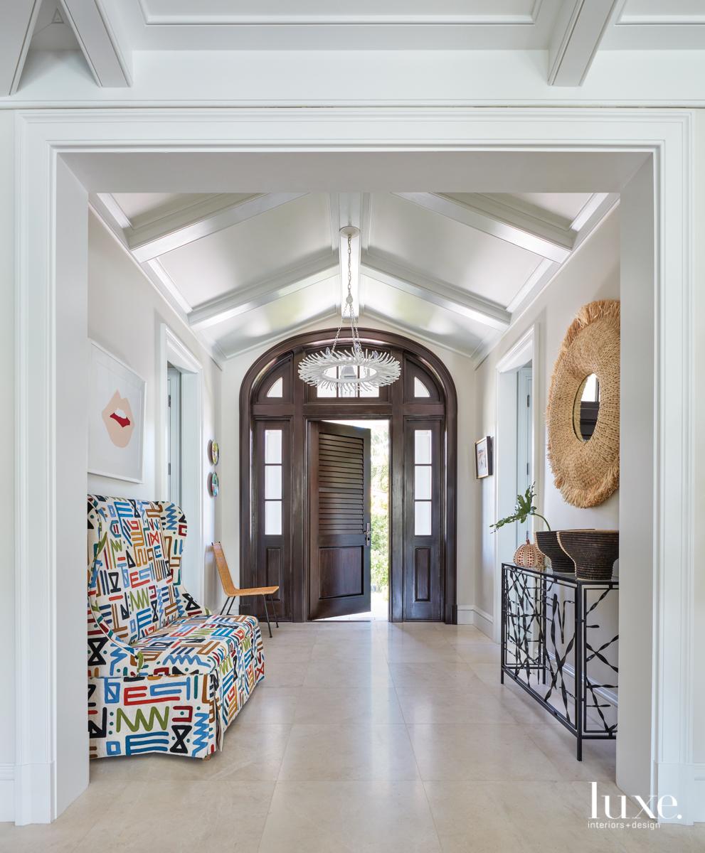 Designer Mally Skok Mixes Patterns...