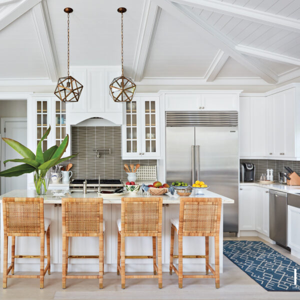 Tour A Cheerful Palm Beach Home With Patterns That Pop