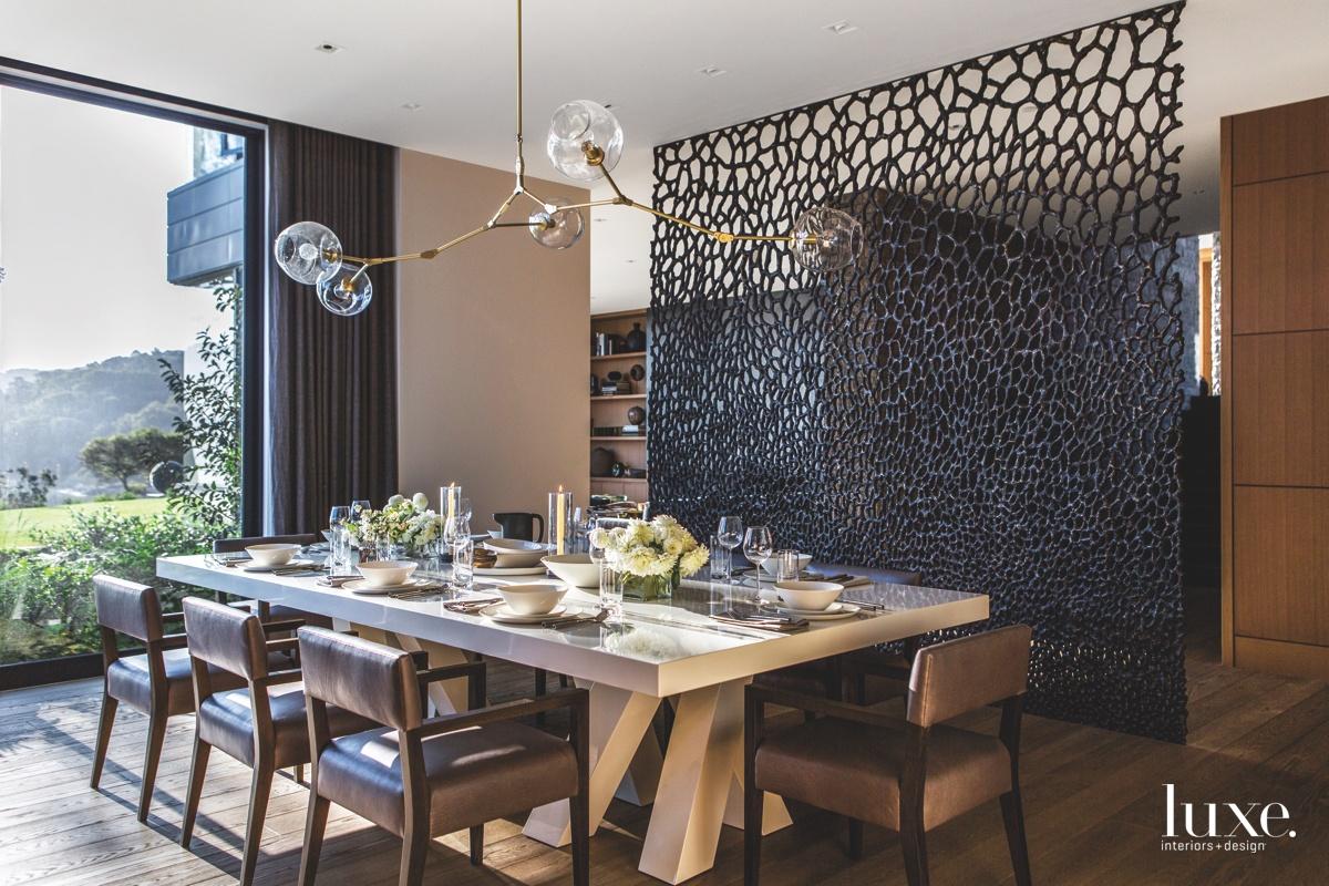 modern brown dining room chandelier