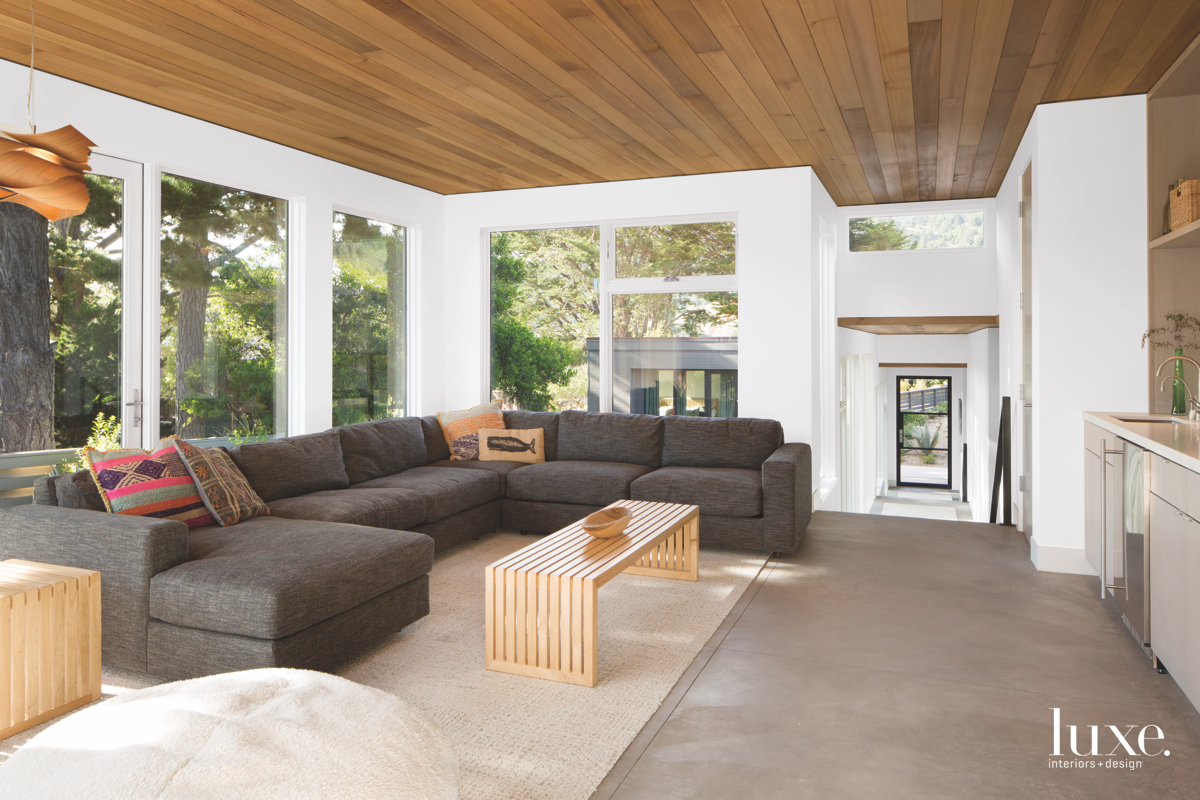 Stinson Beach Home S Design Centers On Nature Luxe Interiors