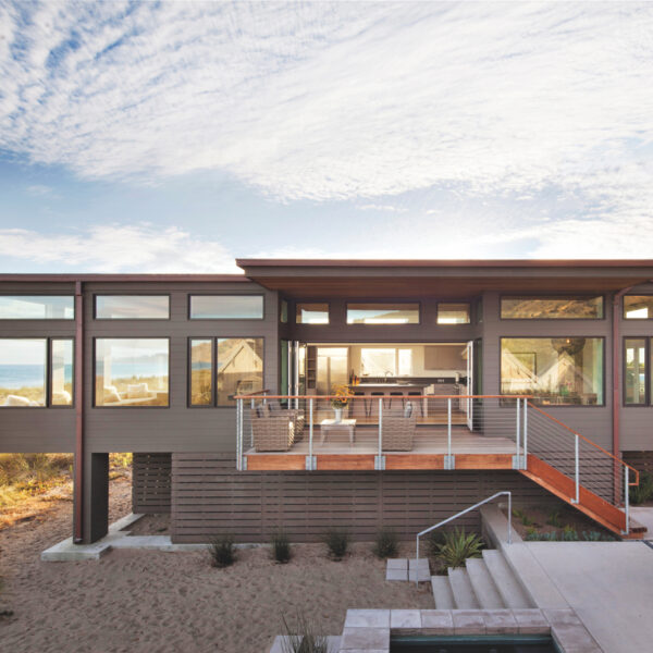 Stinson Beach Home's Design Centers On Nature