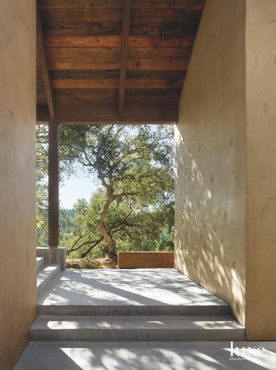 modern stairway exterior neutral