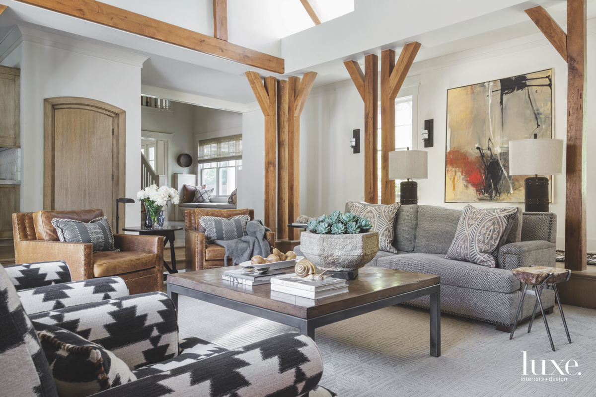 contemporary living room timbers neutral