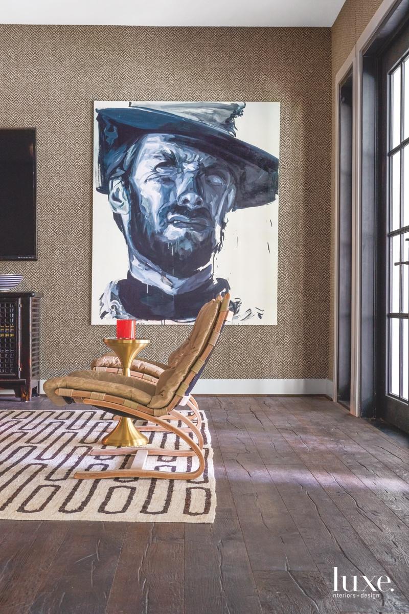 An Issa Salliander painting in...