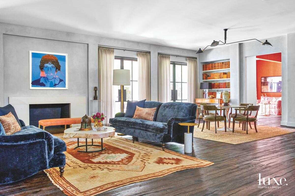 Segreto Finishes customized the lounge's...