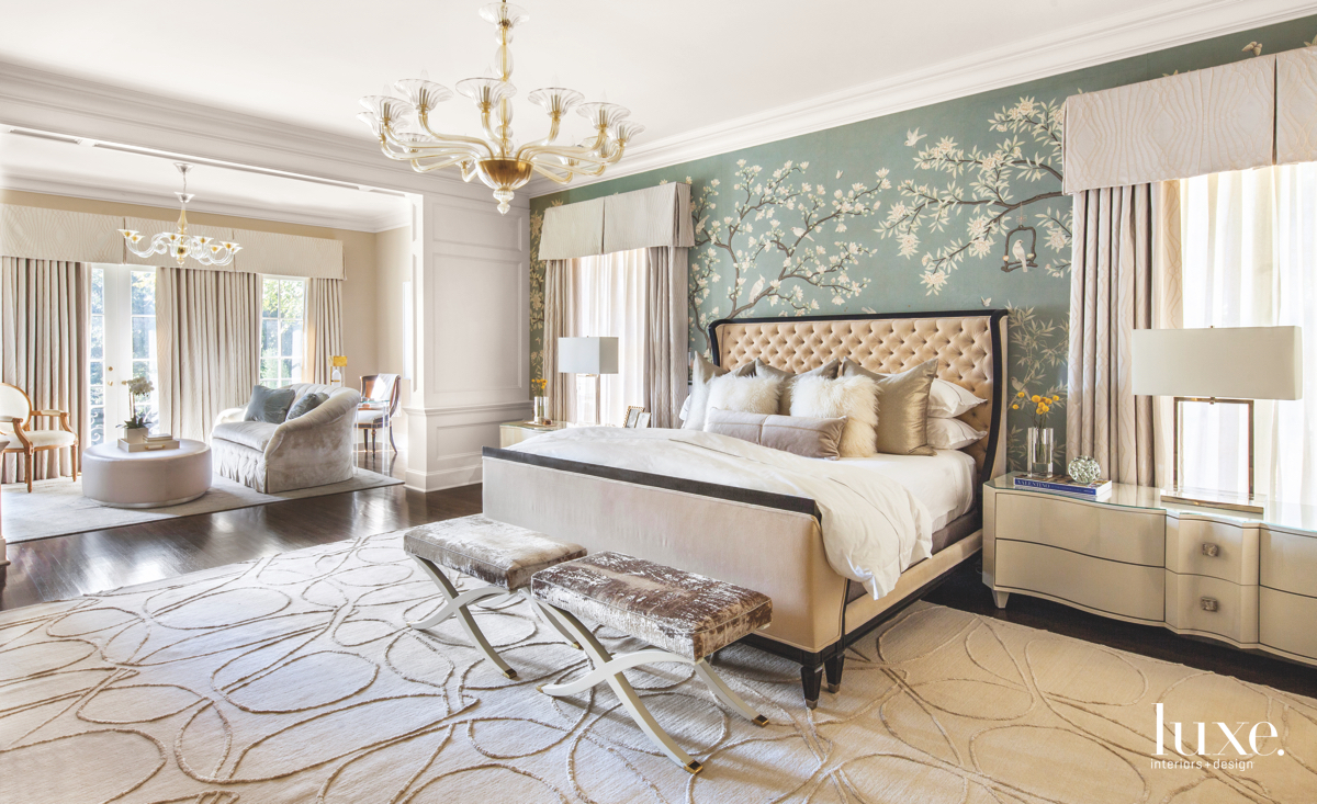 Classic And Art Deco Styles Merge In A Dallas Manor Luxe Interiors Design