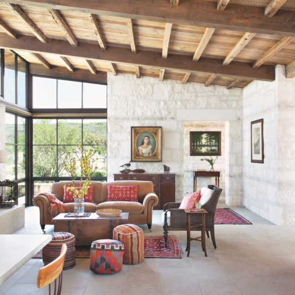 Texas Hill Country Home Features A Bit Of History