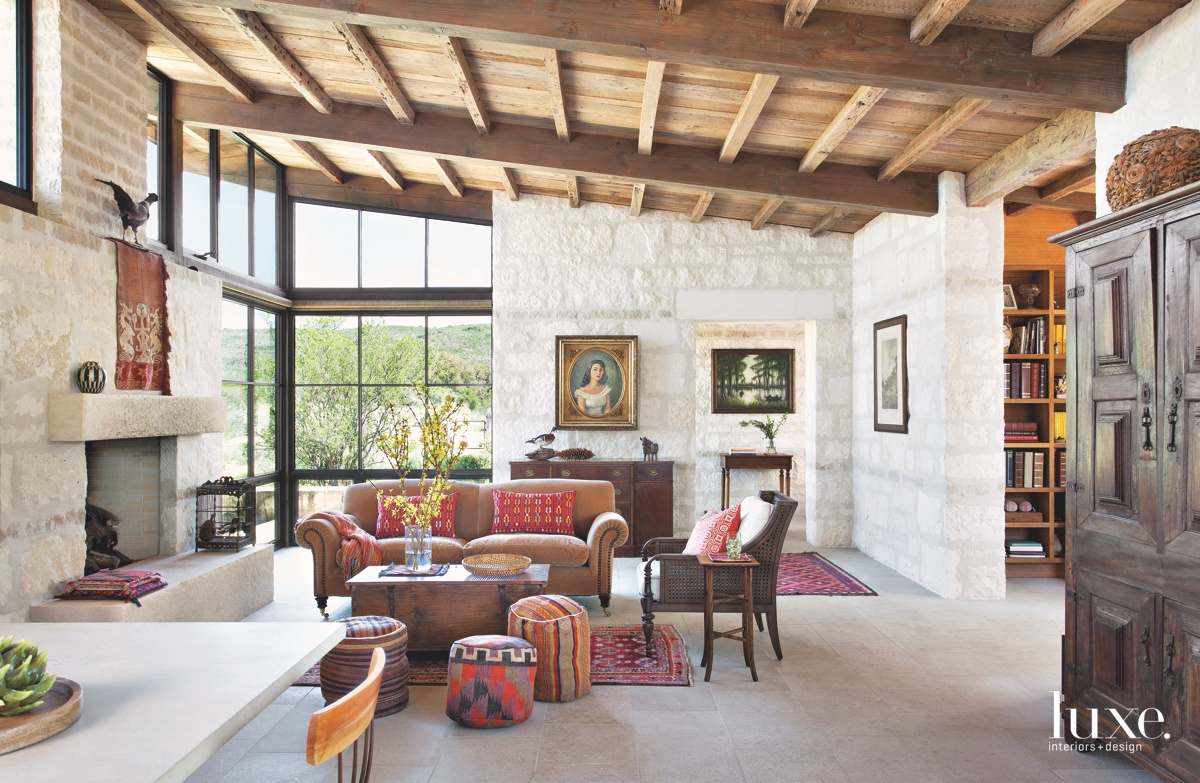 contemporary living room velvet couch...