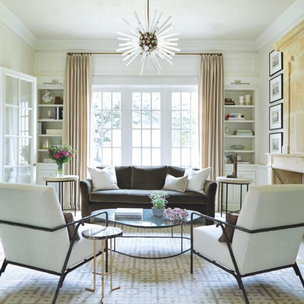 French Elements Give Texas Home A Timeless Look