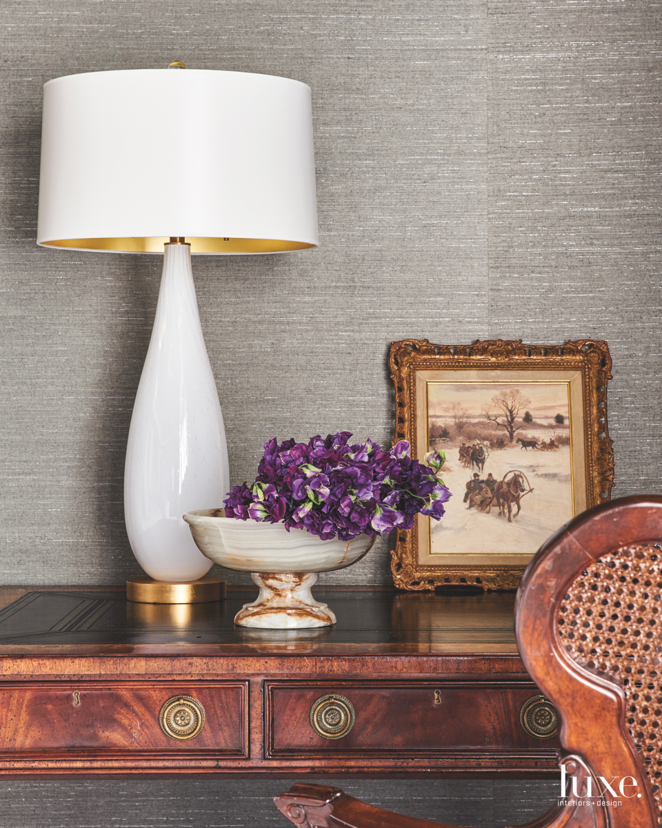 traditional master bedroom lamp bedside...