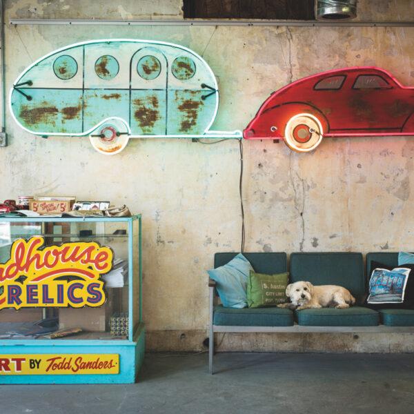 Todd Sanders' Neon Signs Capture Austin's Nostalgia