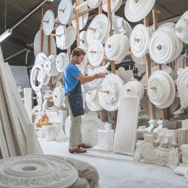 Meet The Owner Of This Historic Plasterworks Studio
