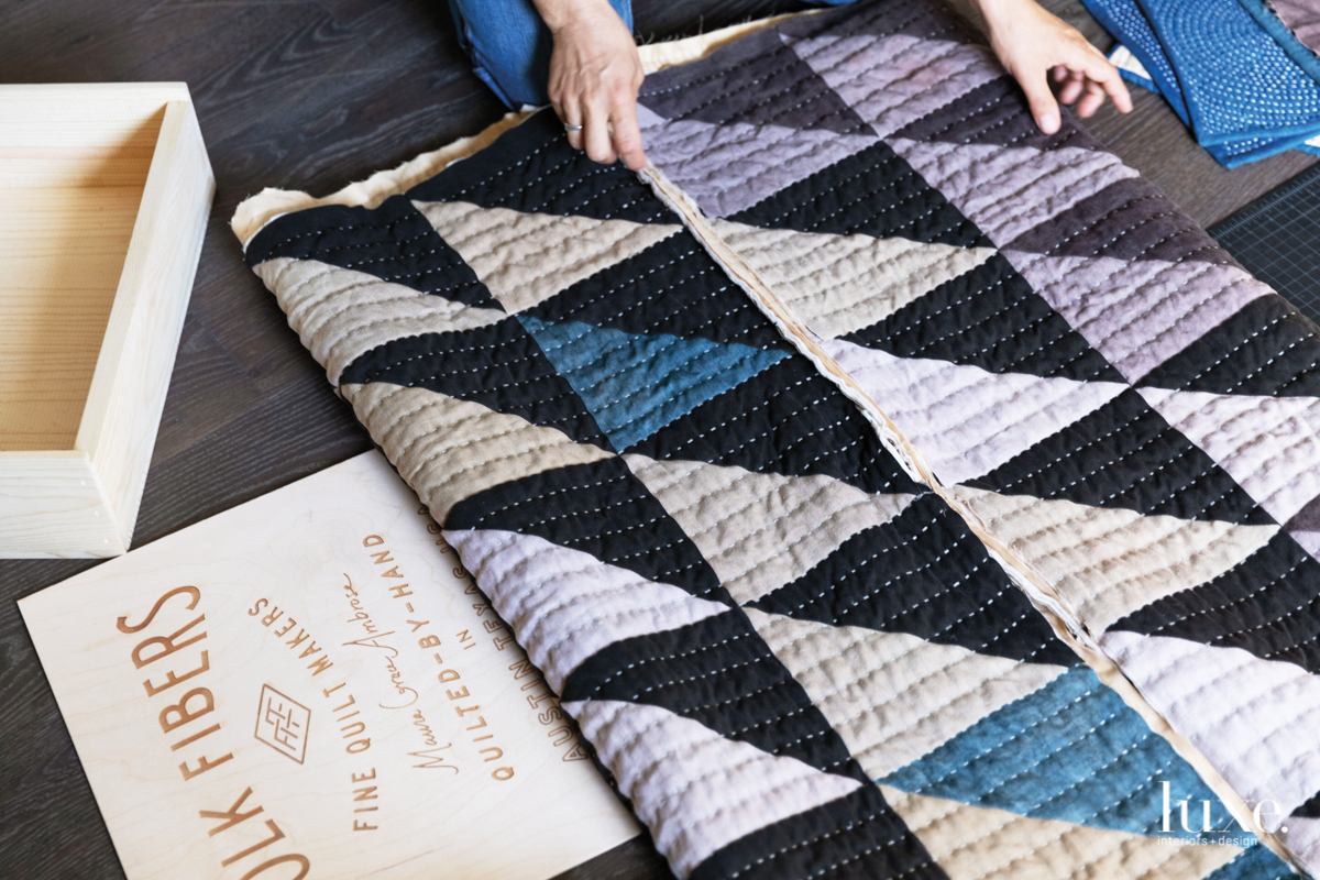 Austin Fiber Artist Maura Ambrose Makes Heirloom Quilts