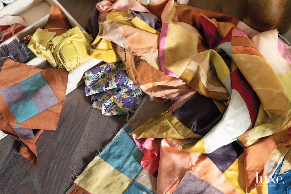 Ambrose works exclusively with natural dyes to create a prism of hues.