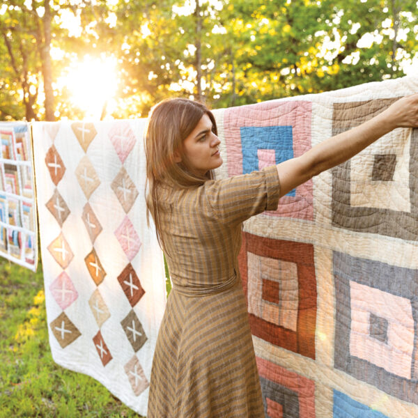 Behind An Austin Fiber Artist's Natural Heirloom Quilts