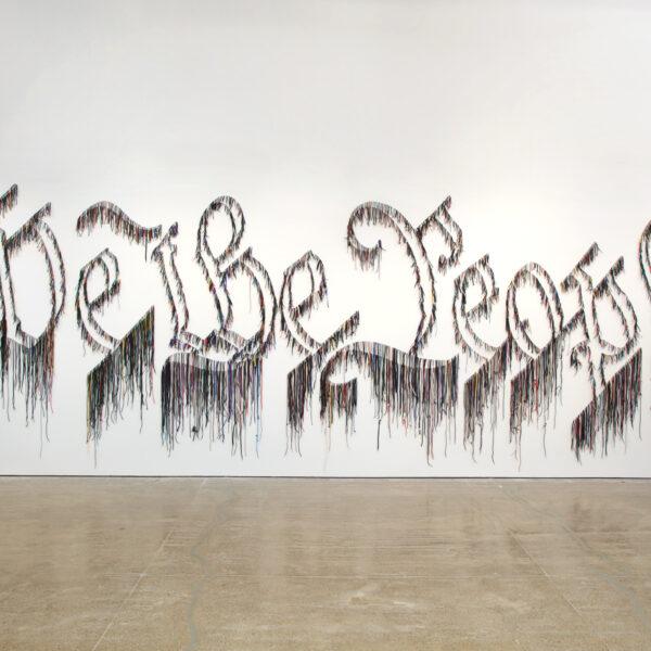 The Nari Ward Texas Exhibit Drawing Thousands