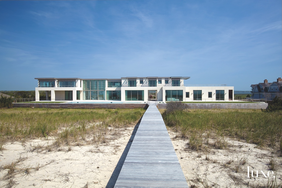 A Hamptons Beach House Plays...