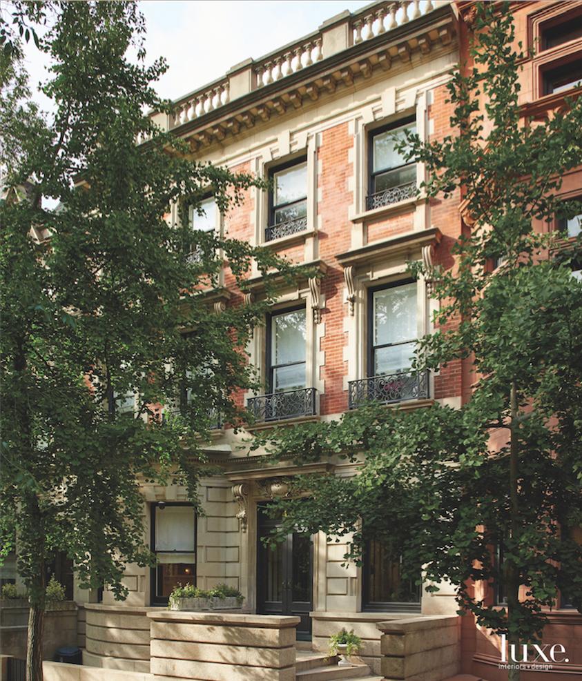 modern exterior entry