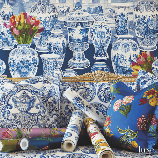 How Dutch Porcelain Inspired This New Coverings Line