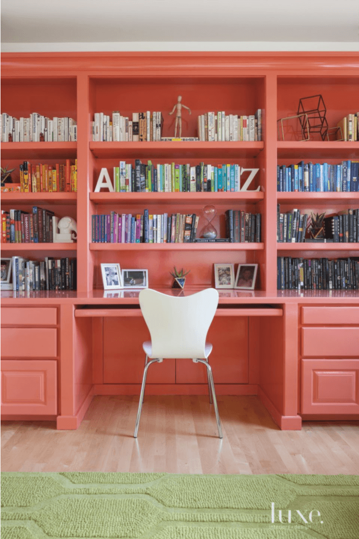 benjamin moore pink paint