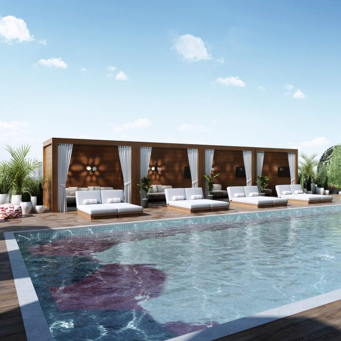 The Pool Club at Virgin Hotels Dallas