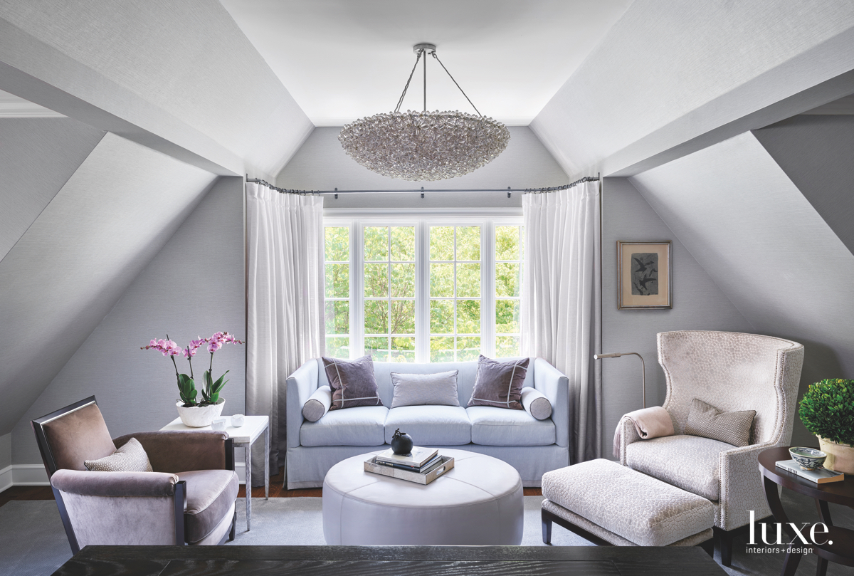transitional bedroom gray neutral palette...