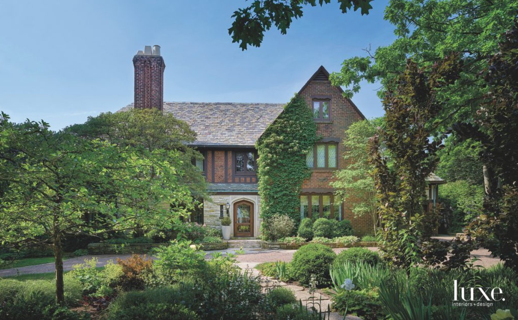 A Chicago Tudor Renovation Is All About Revival Luxe
