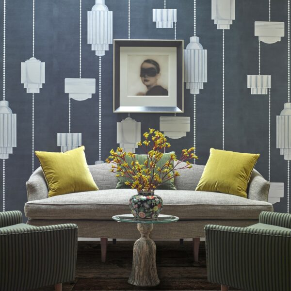 See Michael Berman's New Wallpaper For Fromental