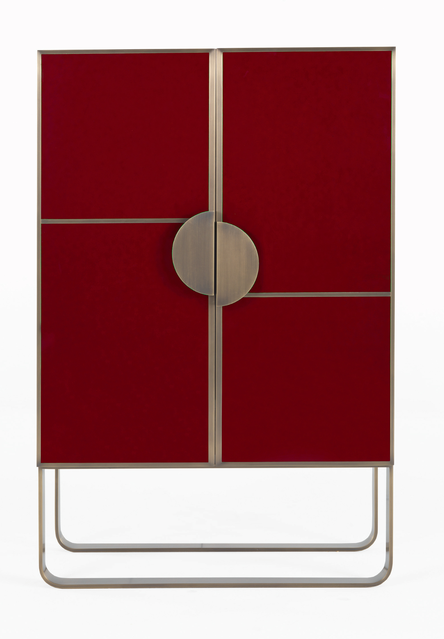 Rendez-Vous Red Bar Cabinet, Zanaboni for Borbonese