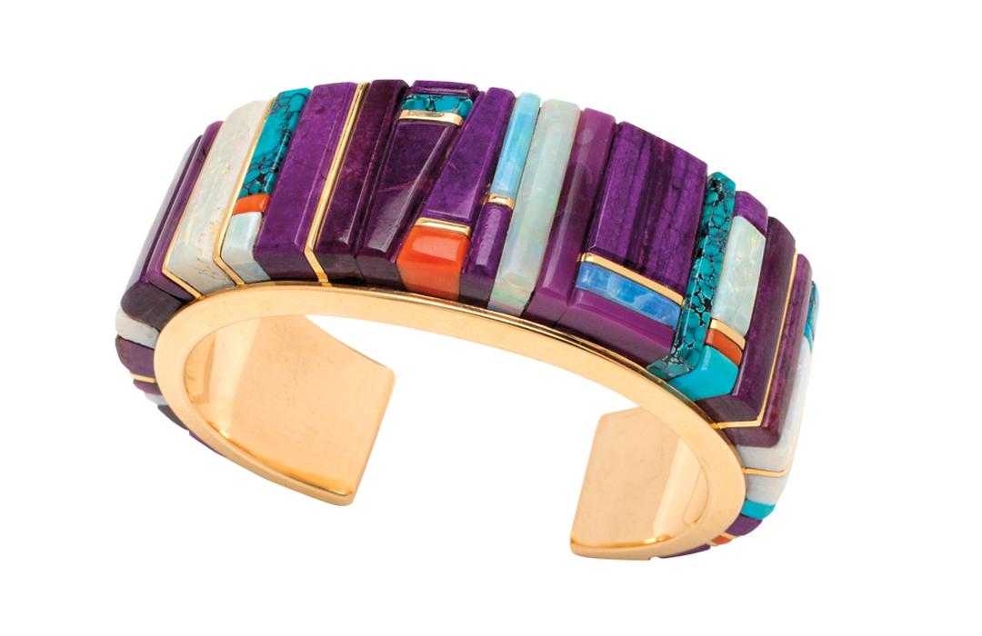 Admire The Jewelry Of Hopi Artisan Verma Nequatewa