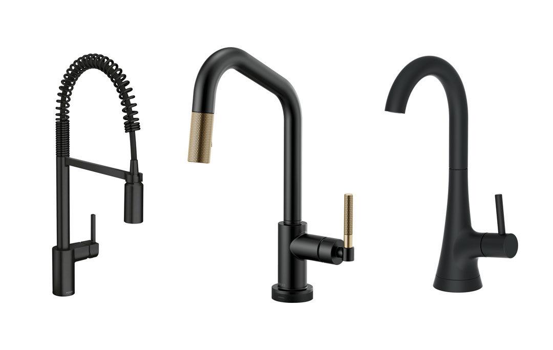 4 Dark Faucet Designs That'll Make Your Sink Pop
