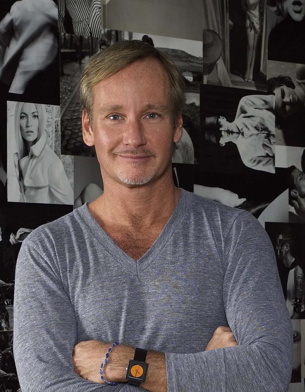 A portrait of designer and artist Doug Meyer.