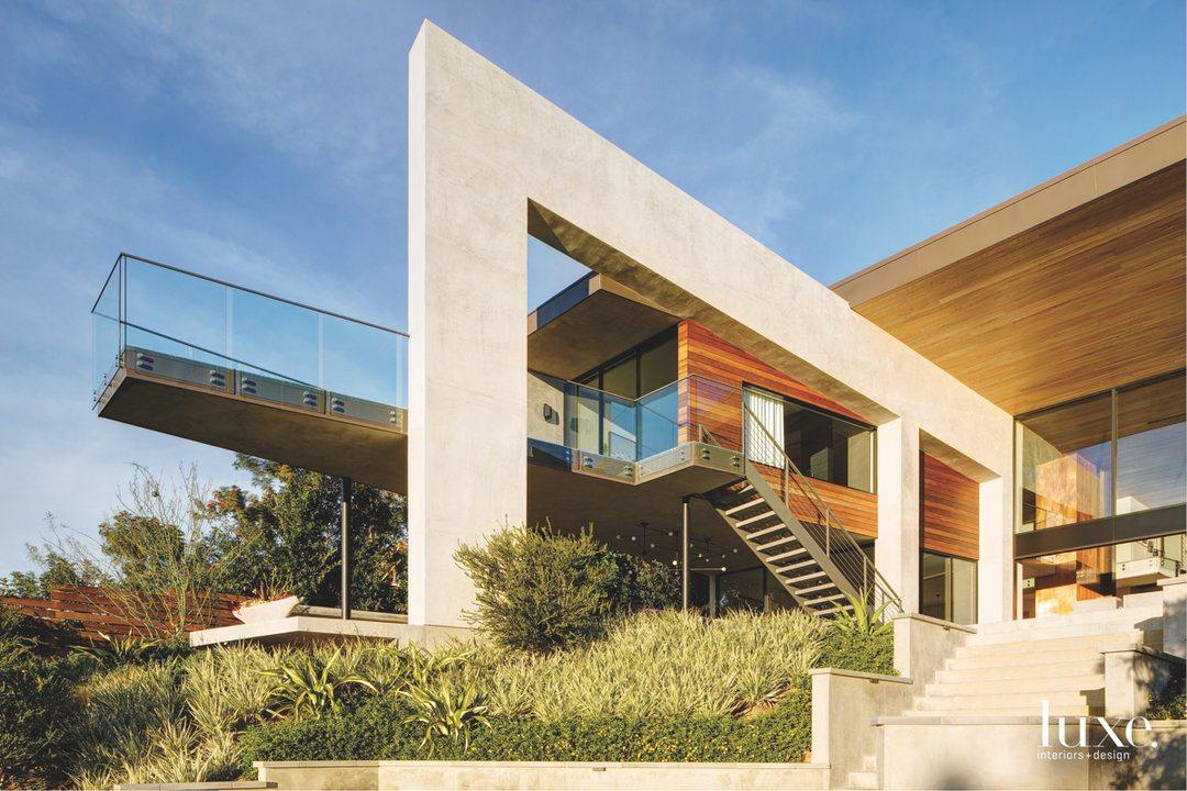 modern exterior geometric neutral la...