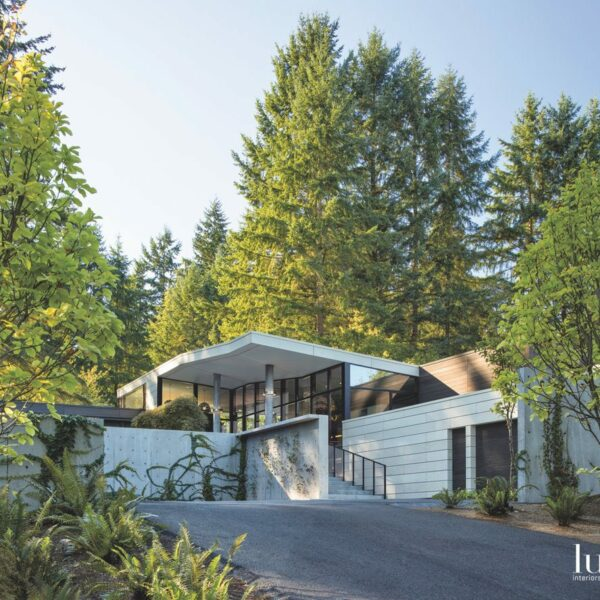 A Bellevue Abode Stands As A Sculpted Masterpiece