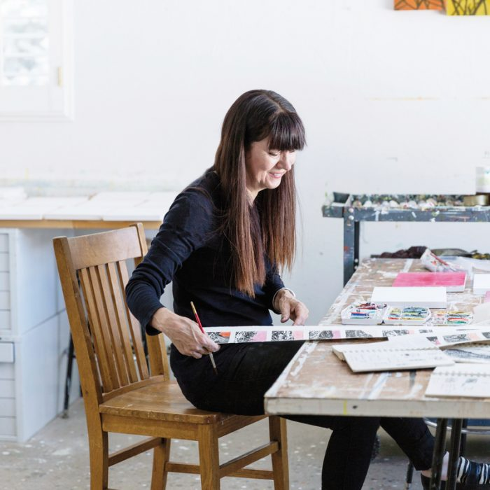 Denver artist Trine Bumiller.