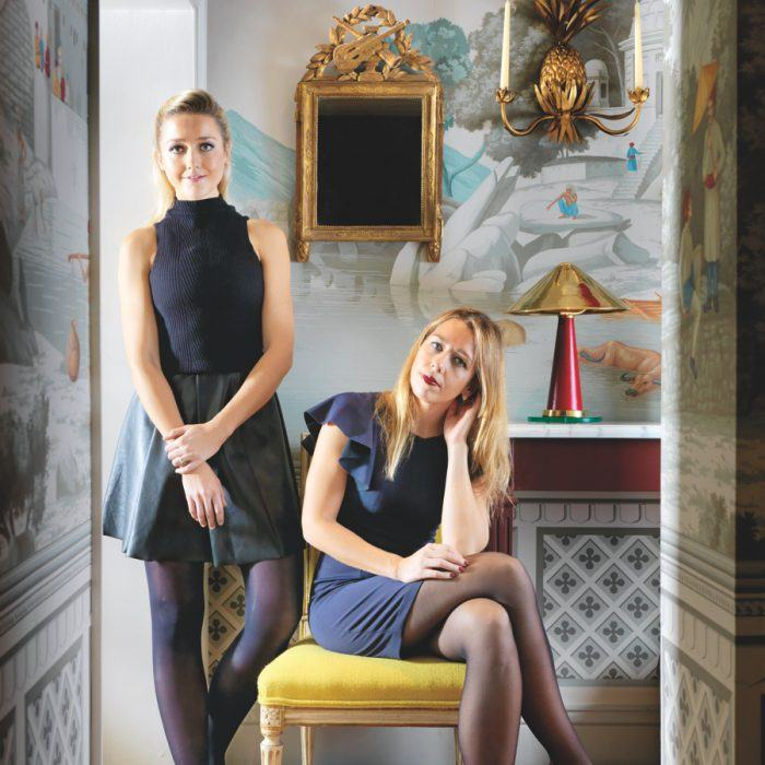 Cecil Gurney Sisters Carry On The De Gournay Legacy