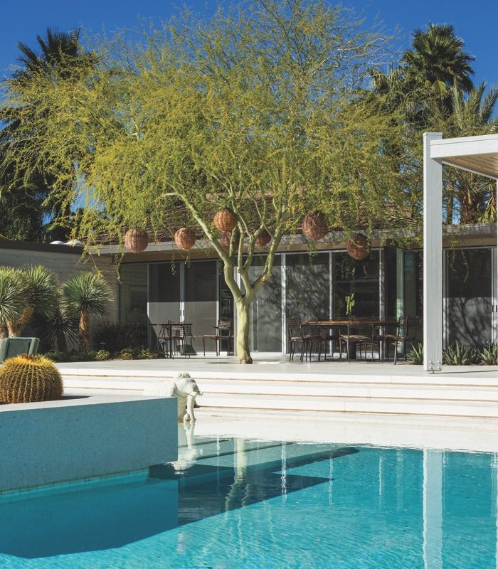 Designed by William F. Cody in 1962, the Abernathy House, is another fine example of Palm Springs Desert Modernism.