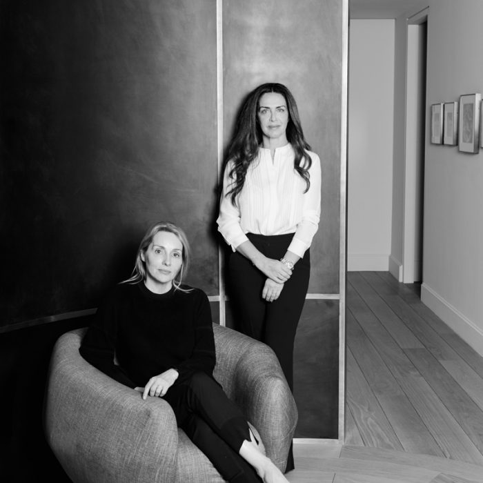 Isabelle Dubern-Mallevays and Anna Zaoui