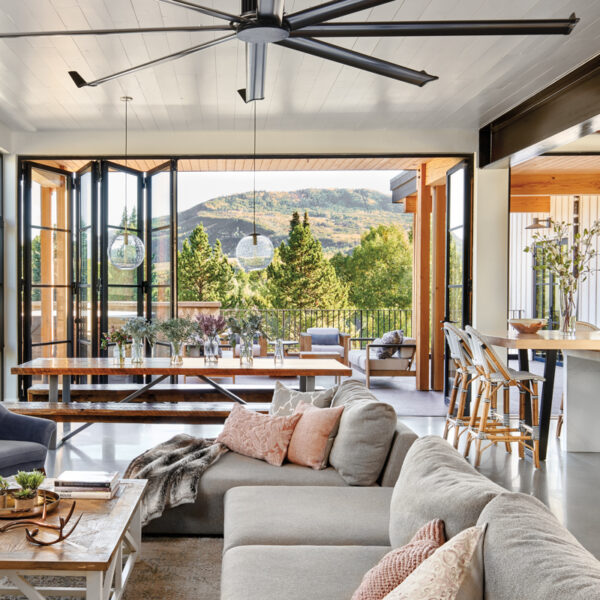 Farmhouse Style Gets A Little Edge In Steamboat Springs