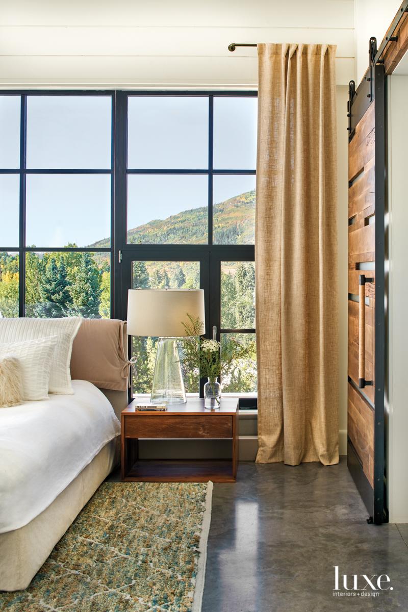 modern neutral bedroom