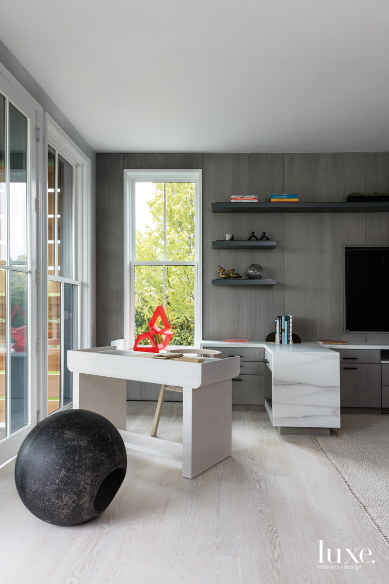 contemporary office gray palette