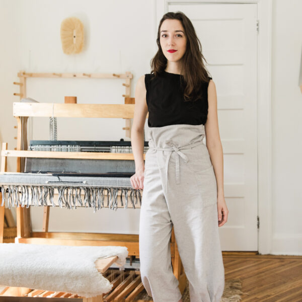 For Weaver Molly Haynes, A Passion For Textiles Is Genetic