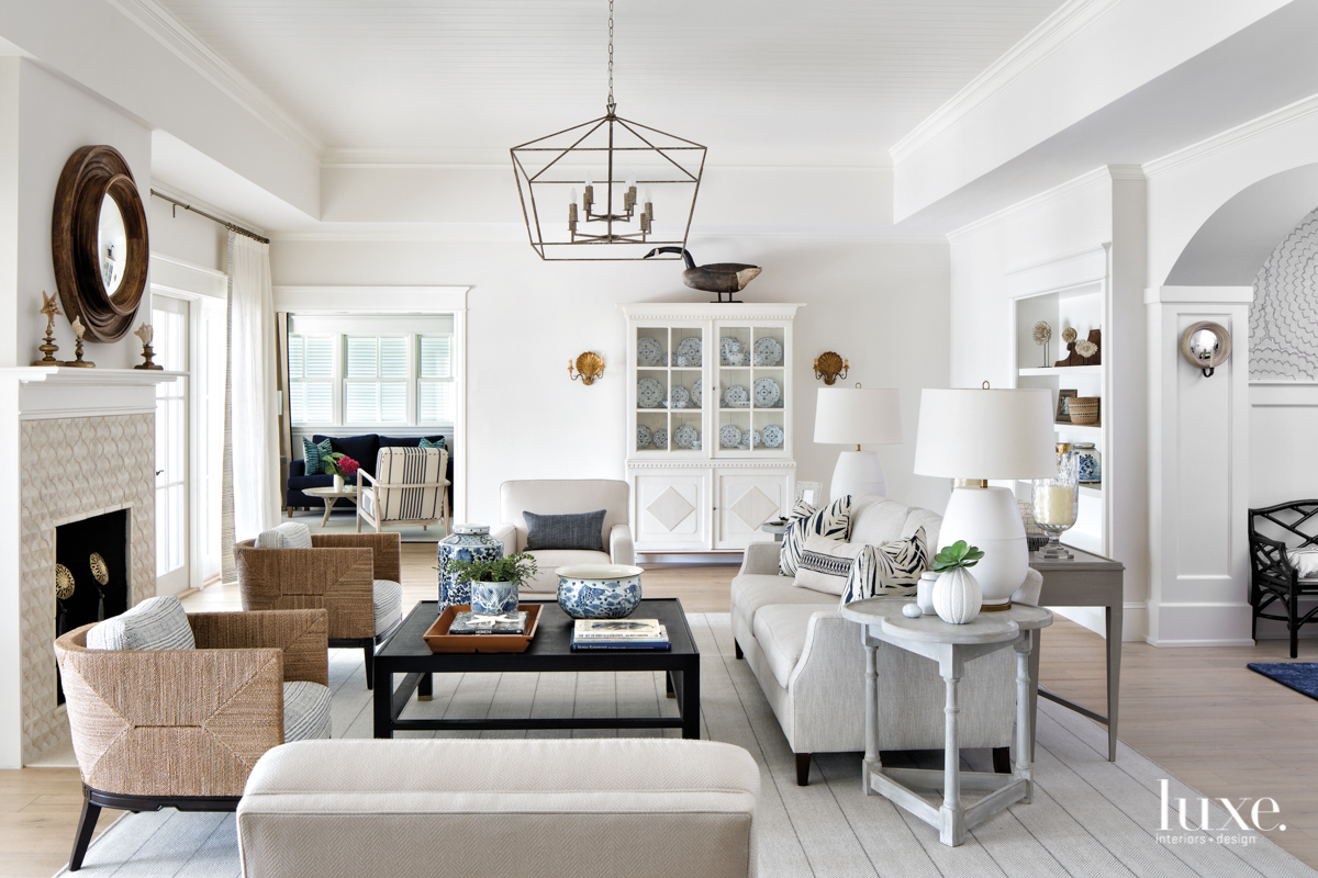 coastal neutral living room