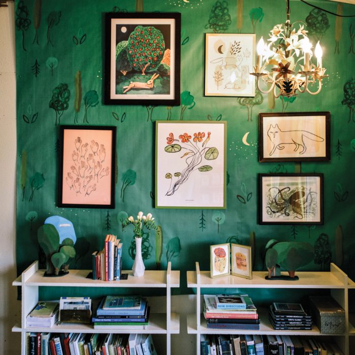 In Seattle, artist Michael Doyle and graphic designer Samantha Wagner fashion fanciful collections of stationery, prints and accessories.