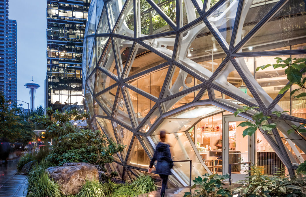Under A Seattle Dome, Dine And Drink Amidst Beauty