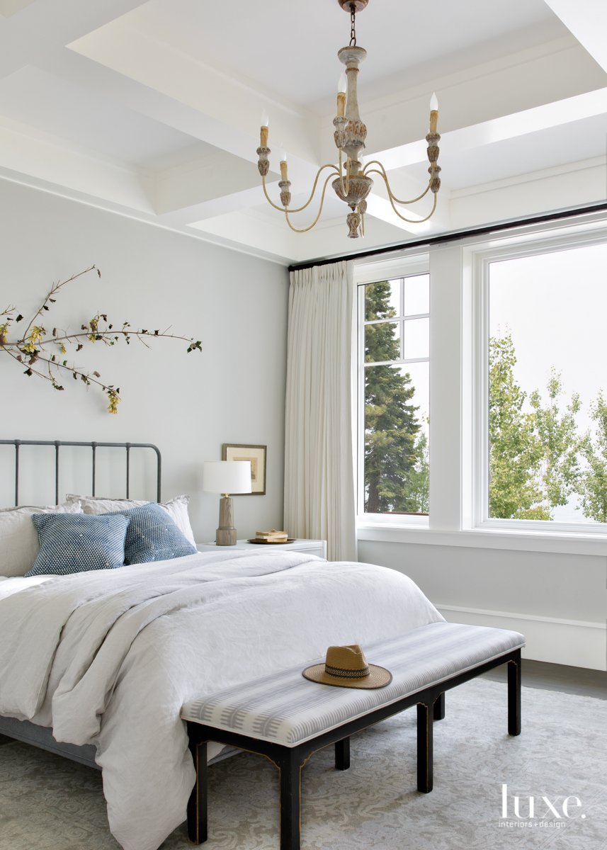 transitional neutral bedroom