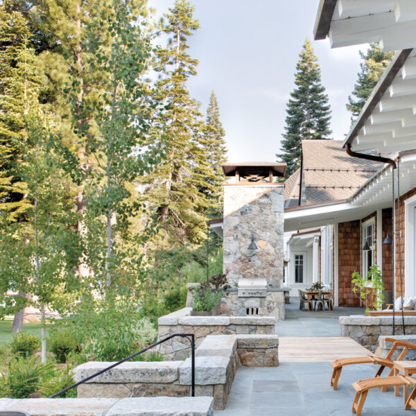 Striking Features Make For Relaxed Living On Lake Tahoe