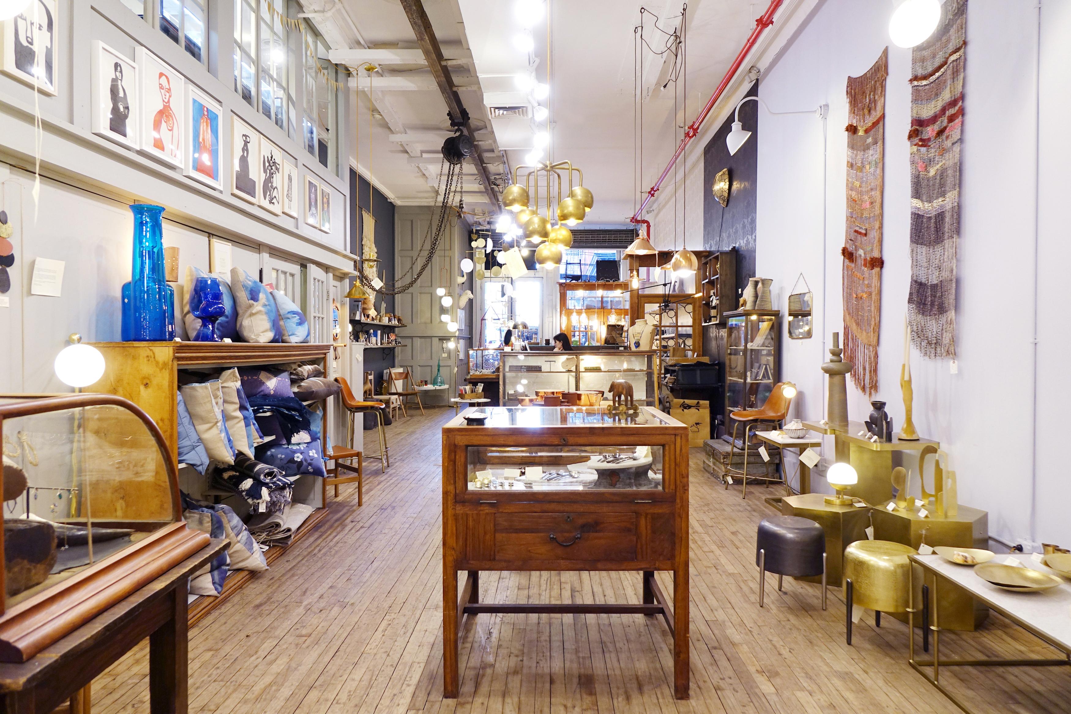 Inside Michele Varian's Howard Street Store.