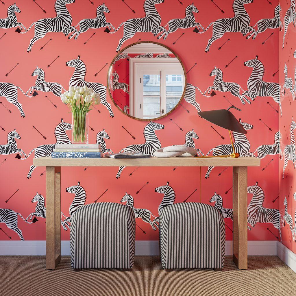 Scalamandre's Iconic Zebra Wallpaper Gets Modern Update ...