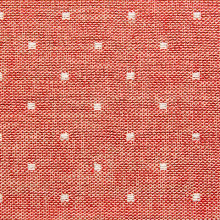 Polka in rustic red